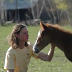 Stephanie and Red Thunder